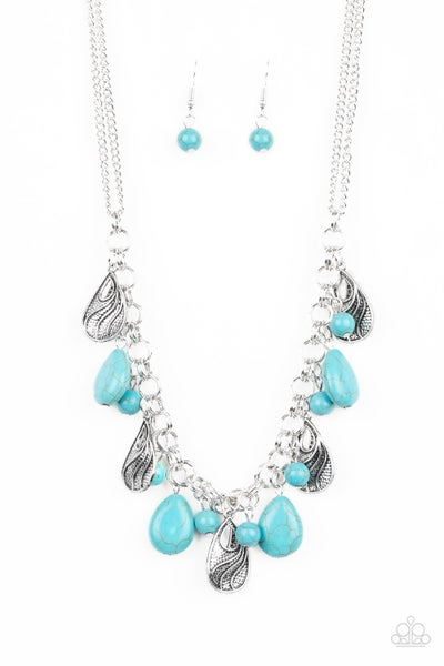 Terra Tranquility Turquoise Necklace