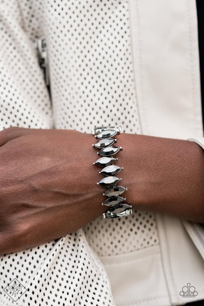 Fiercely Fragmented Silver Bracelet