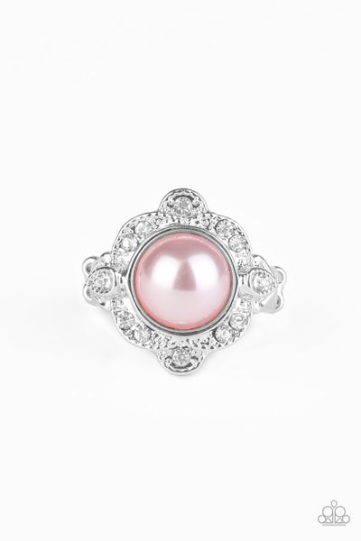 Ornamental Opulence Pink Ring