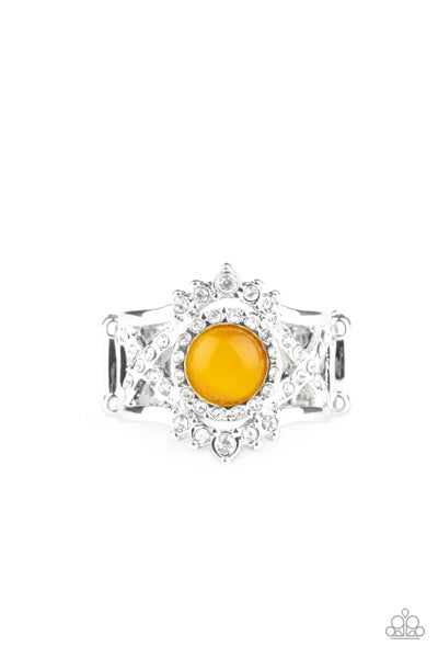 Decadently Dreamy Yellow Ring