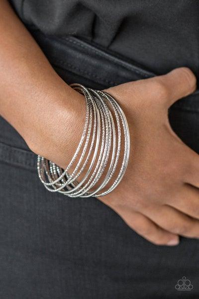 Bangle Babe Silver Bracelet