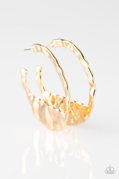 The Beast of Me Gold Hoops