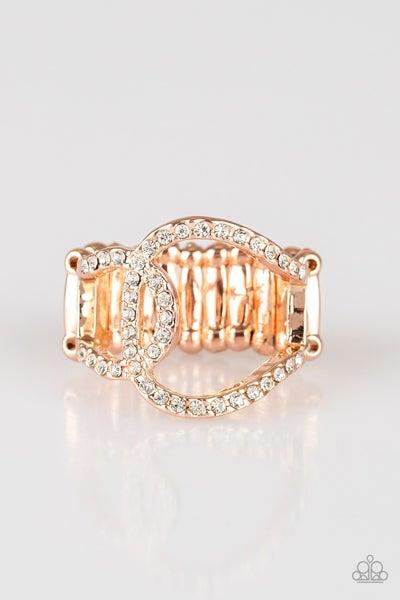 Radical Radiance Rose Gold Ring