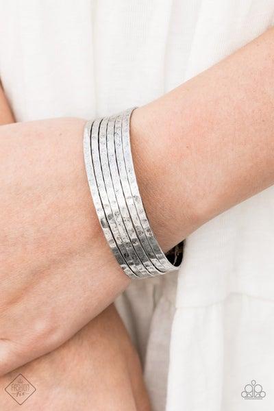 Bauble Headed Silver Bracelet