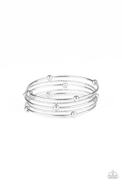 Stellar Orbit Silver Bracelet