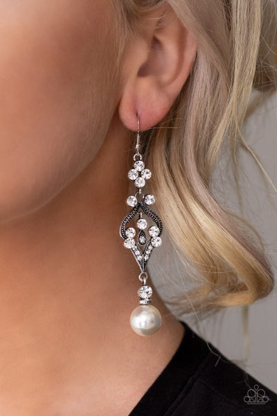 Elegantly Extravagant Pearl Earrings