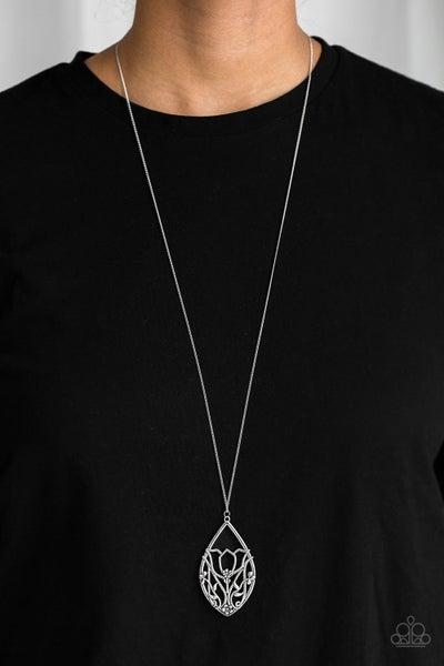 Eden Enchantment Silver Necklace