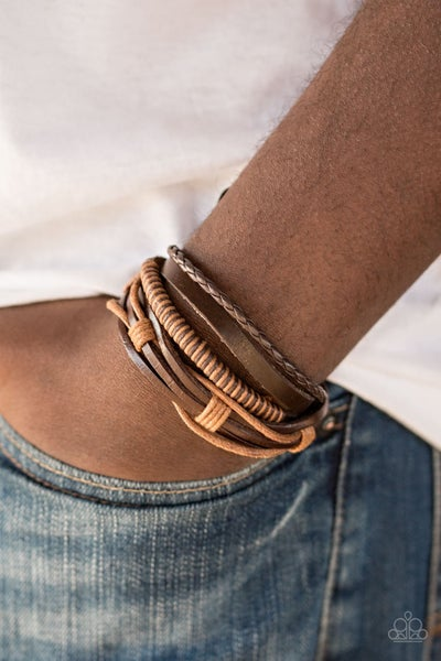 Trailbreaker Brown Bracelet