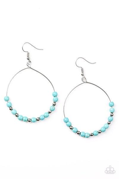 Stone Spa Turquoise Earrings