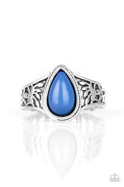 The Zest of Intentions Blue Ring
