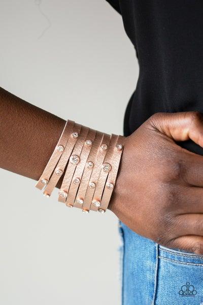 Go Getter Fabulous Copper Bracelet