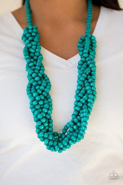 Tahiti Tropic Blue Necklace