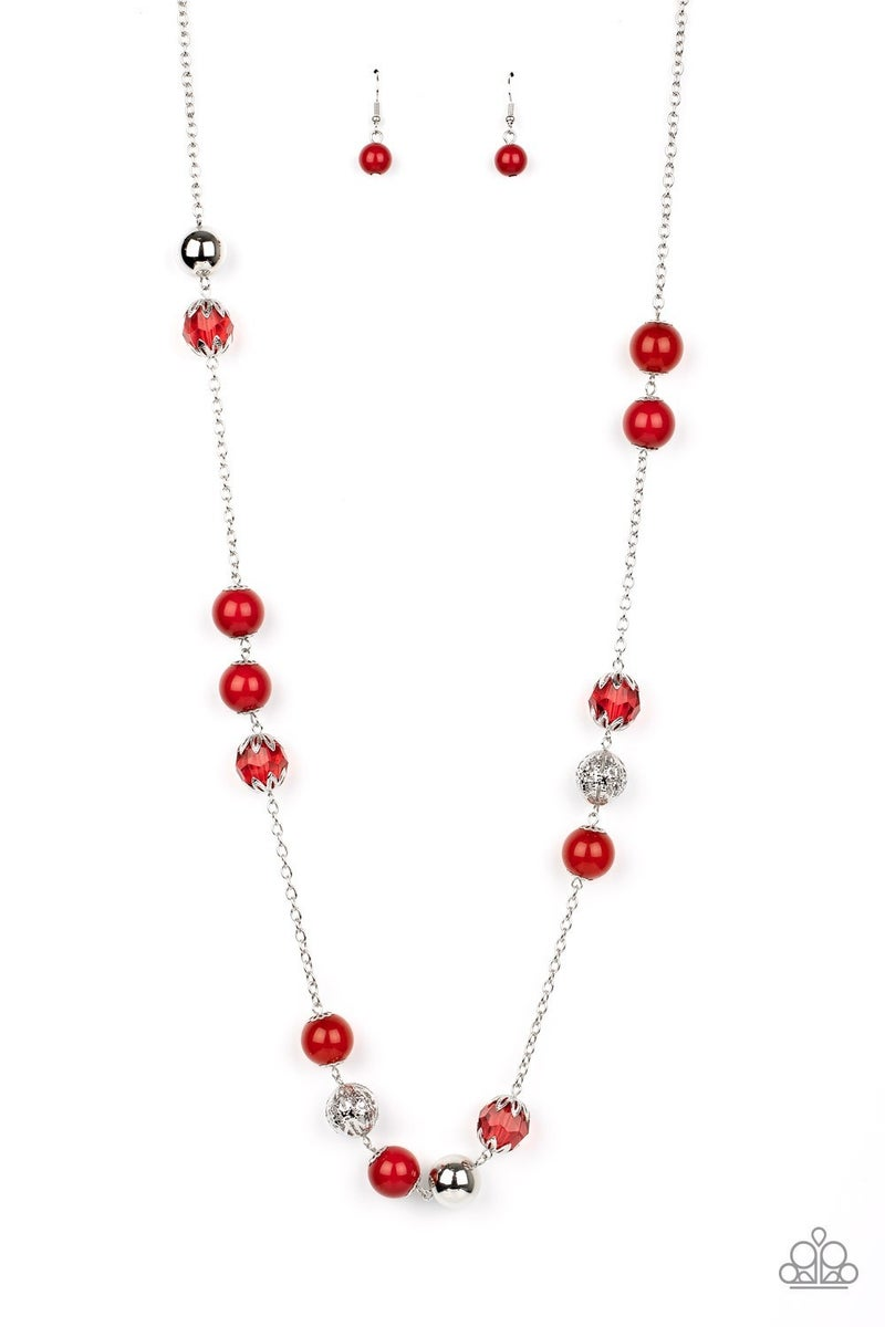 Fruity Fashion Red Necklace