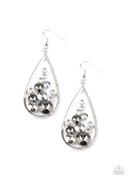 Tempest Twinkle Silver Earrings