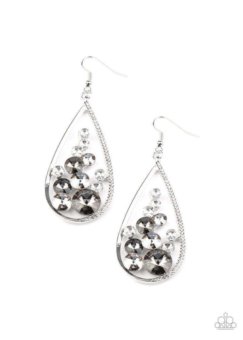 Tempest Twinkle Silver Earrings