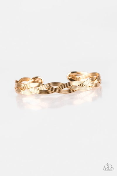 Business As Usual Gold Bracelet