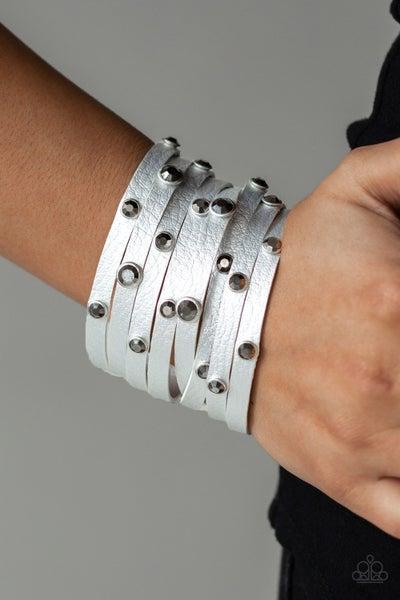 Go-Getter Glamorous Silver Bracelet