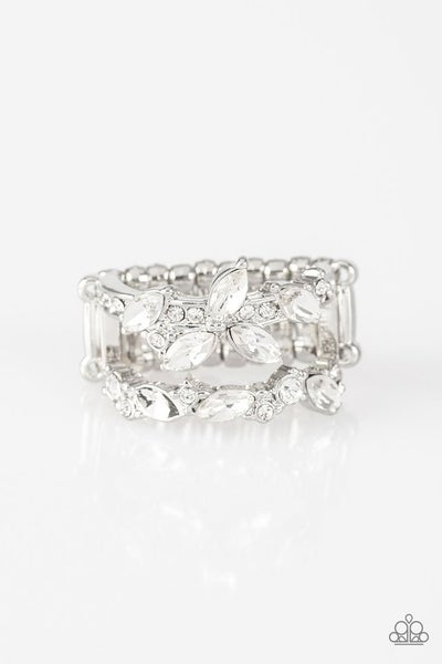 Cosmo Collection White Ring