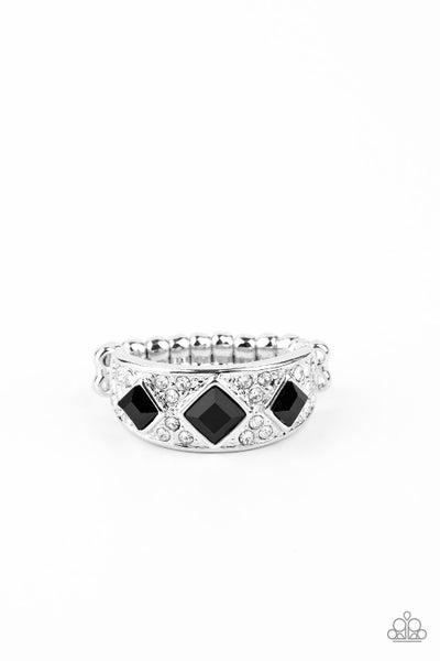 New Age Nouveau Black Ring