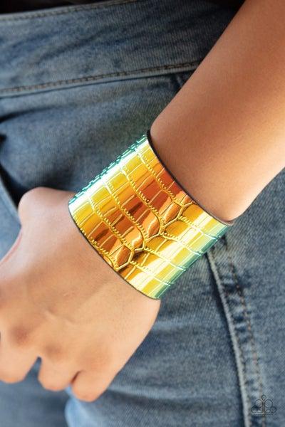 Chroma Croc Multi Bracelet