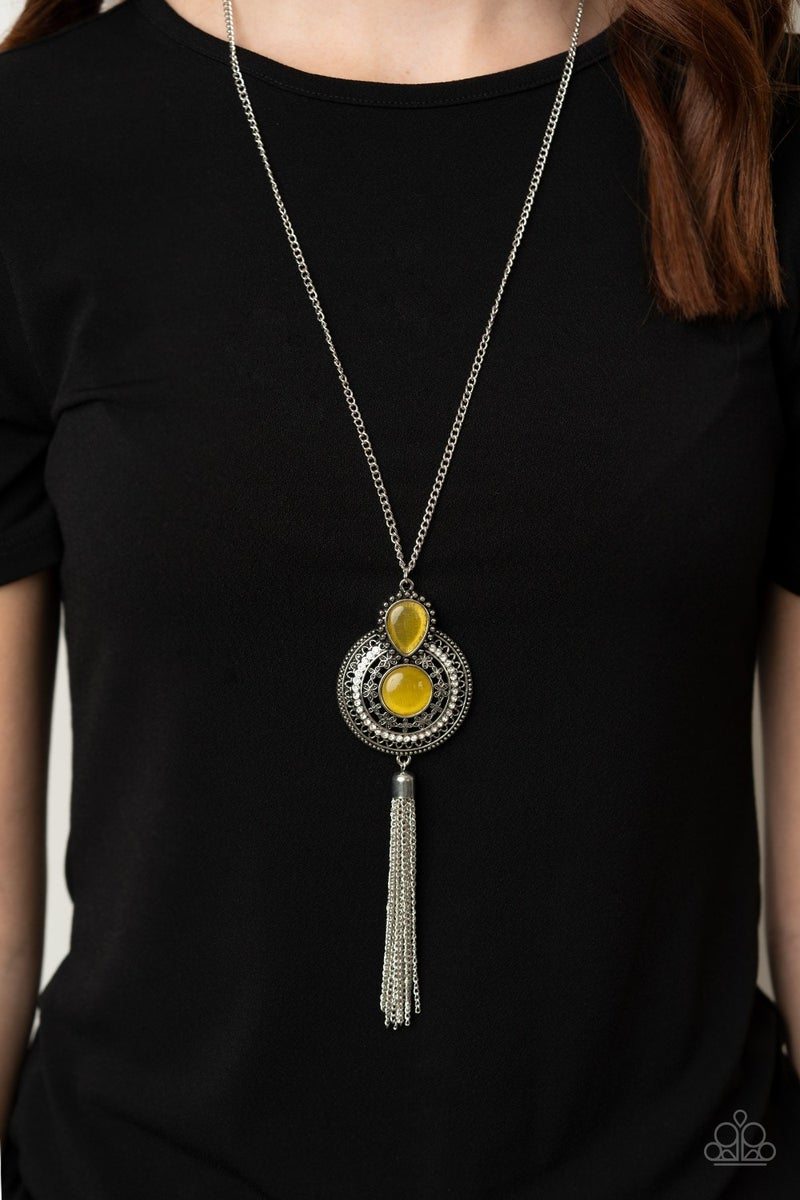 Mountain Mystic Yellow Necklace