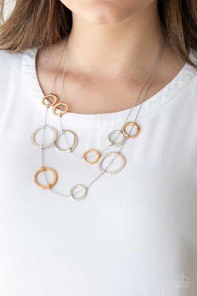 Ageless Aesthetics Silver Necklace