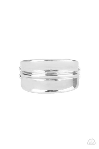 Band Together Silver Ring