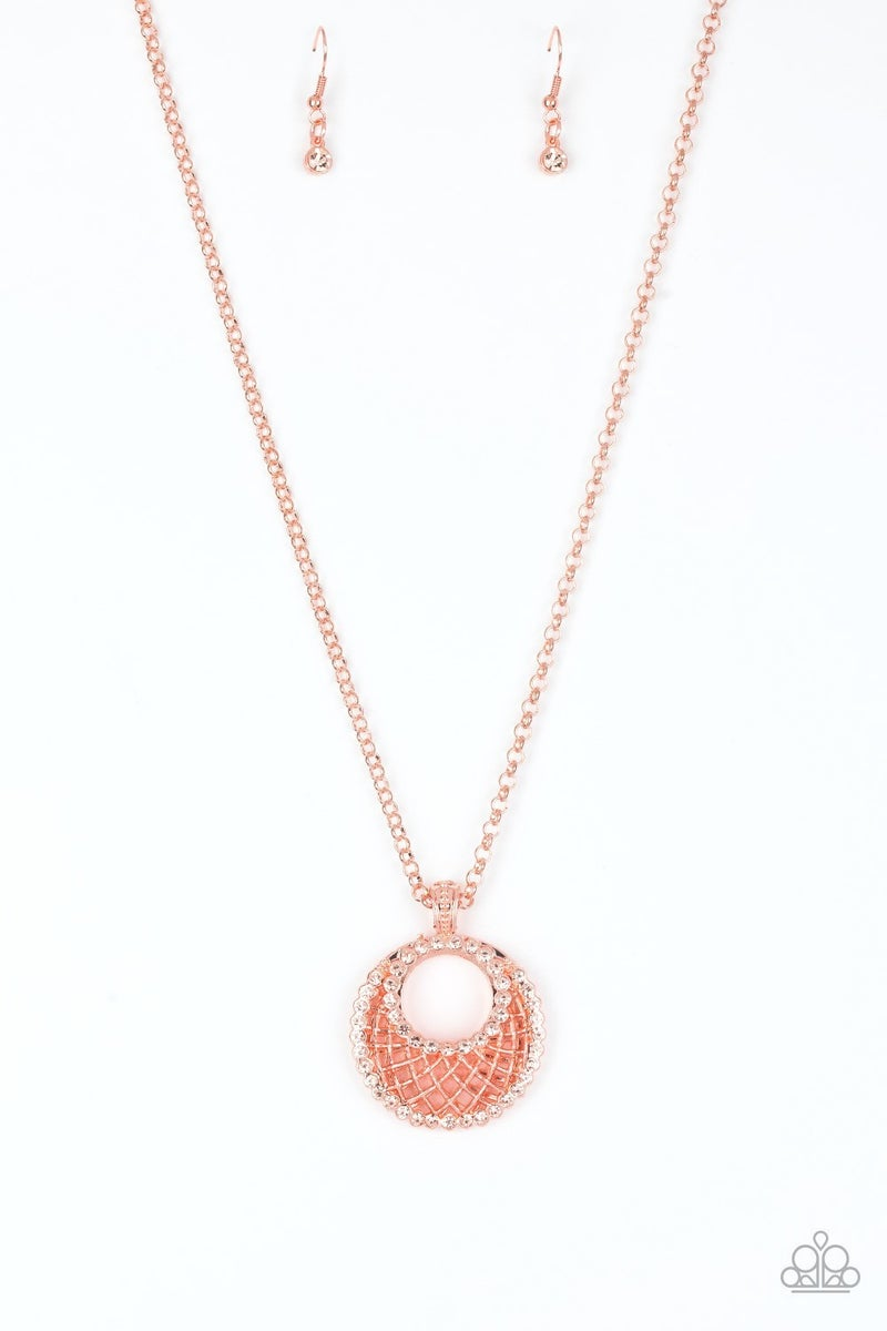 Net Worth Copper Necklace