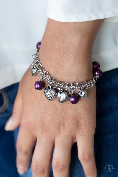More Amour Purple Bracelet