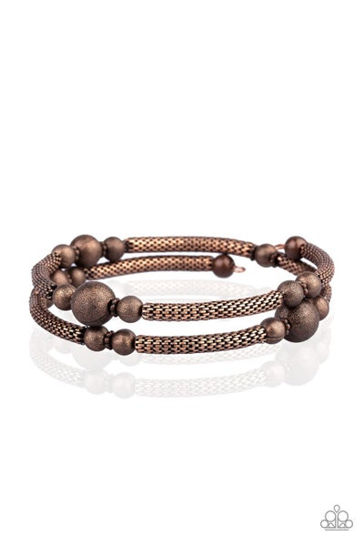 West End Wraparound Copper Bracelet