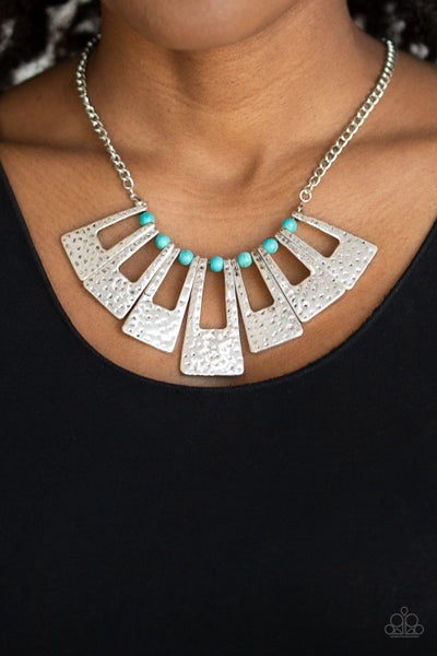 Terra Takeover Turquoise Necklace