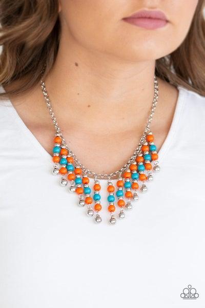 Your Sundae's Best Orange Necklace