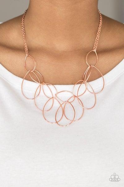 Top Tear Fashion Copper Necklace