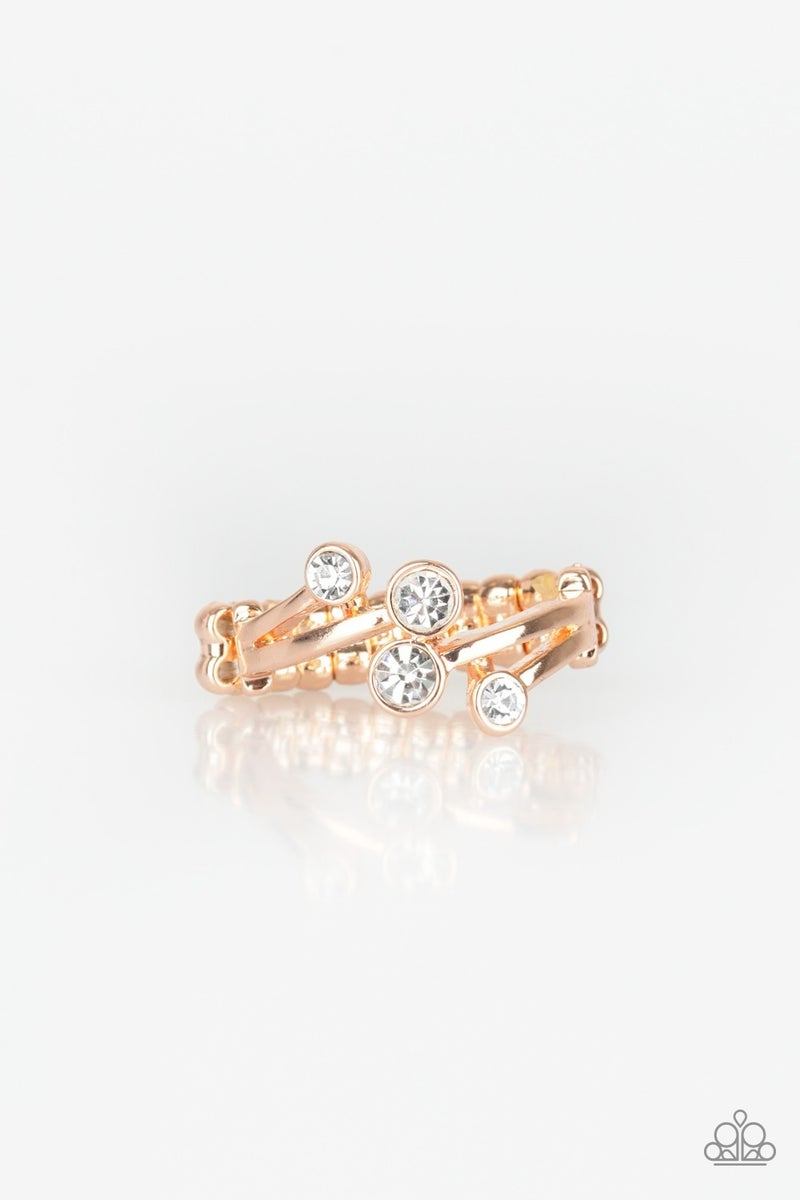 Glowing Great Places Rose Gold Ring