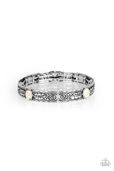 Wild West Story White Bracelet
