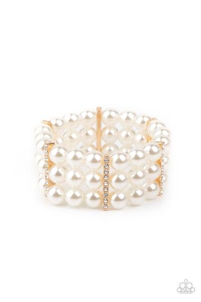 Modern Day Majesty Gold Bracelet