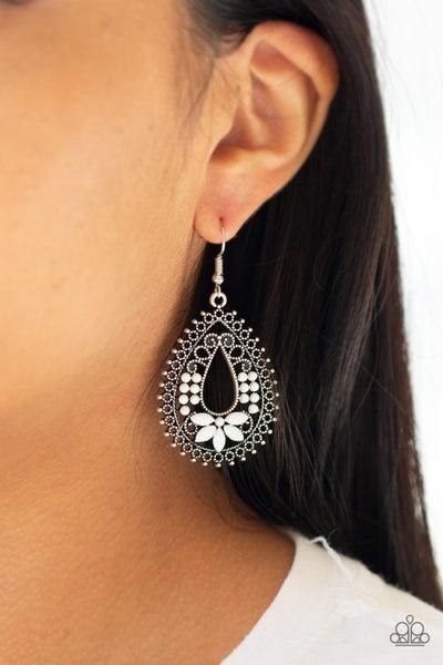 Atta-GALA White Earrings