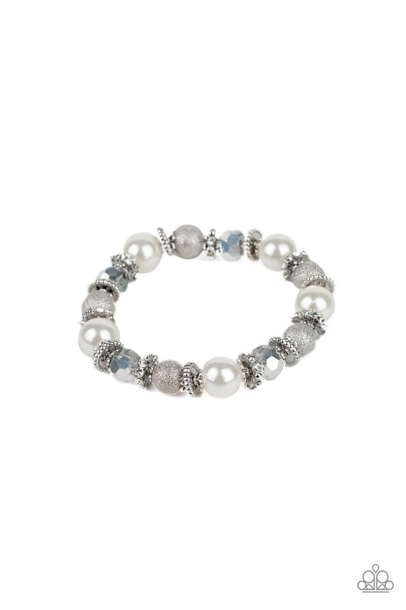 Sparking Conversation Pearl Bracelet
