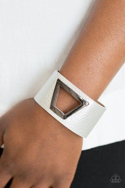 Power Play Silver Bracelet