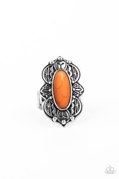 Lotus Oasis Orange Ring