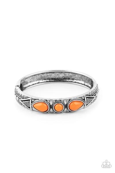 Radiant Ruins Orange Bracelet
