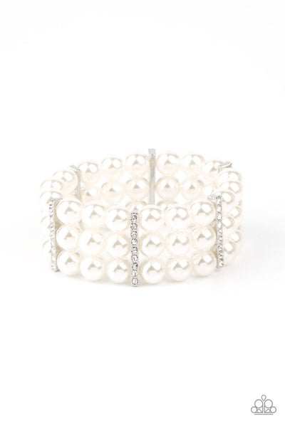 Modern Day Majesty Pearl Bracelet