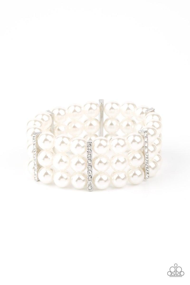 Modern Day Majesty Pearl Bracelet