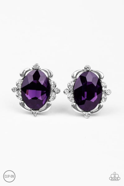 Regally Radiant Purple Clip Ons