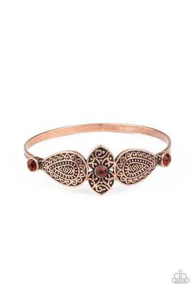 Flourishing Fashion Copper Bracelet