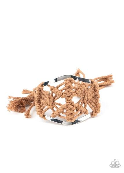 Macrame Mode Brown Bracelet