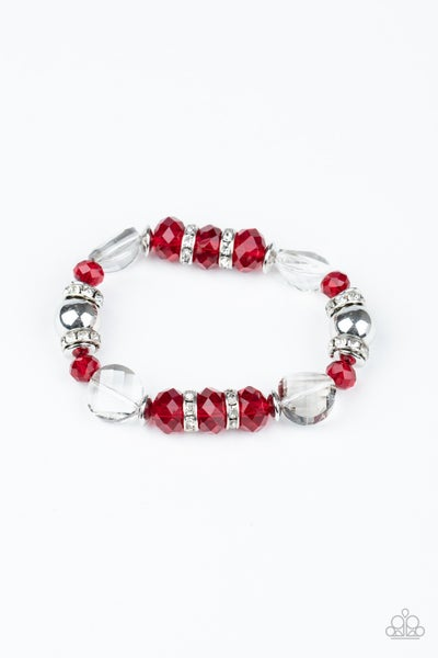 Treat Yourself Red Bracelet