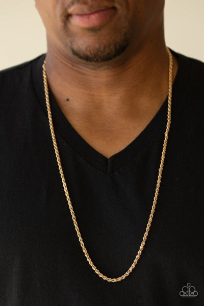 The Go-To-Guy Gold Urban Necklace