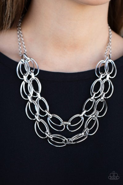Status Quo Silver Necklace