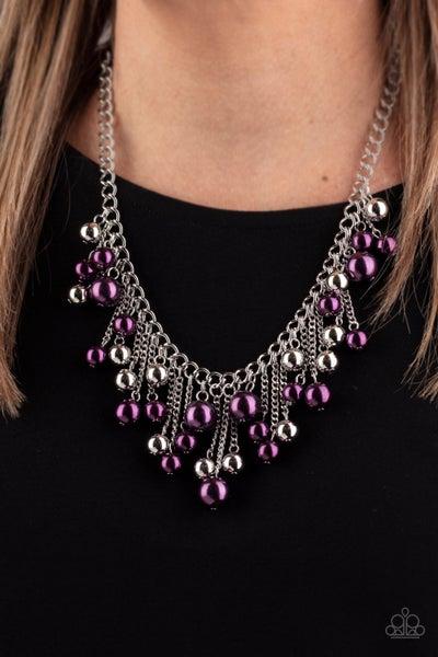 City Celebrity Purple Necklace